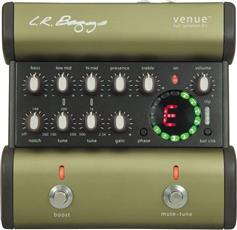 L.R Baggs Venue Di Preamp Προενισχυτής / DI-Box / 5 Band EQ / Χορδιστήρι