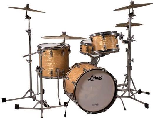 Ακουστικό Drum SetLudwigLLC5003LXAO Legacy Mahogany Downbeat 20 Aged