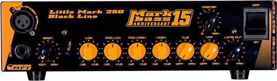 Κεφαλή Ηλεκτρικού ΜπάσουMark BassLittle Mark 250 Black 15th Anniversary