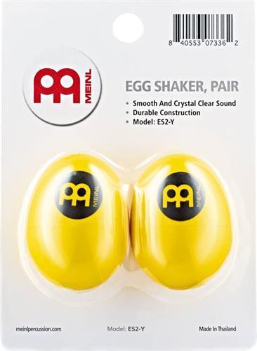 ΜαράκεςMeinl PercussionΕS2-Y Σέικερ Αυγά Κίτρινο