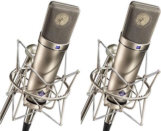 Ενσύρματο ΜικρόφωνοNeumannU-87-Ai-Stereo-Set Πυκνωτικά