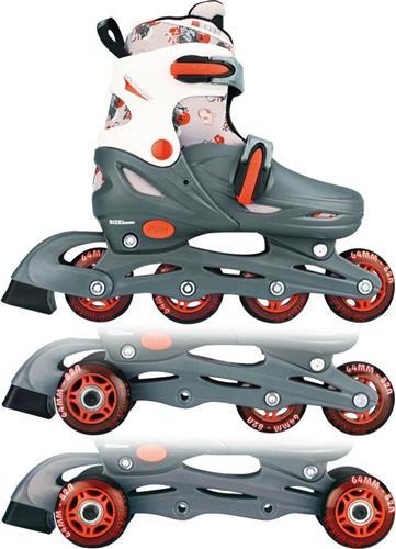 RollerbladesNijdamInline Quads Junior Ρυθμιζόμενα 52QM 30 - 33