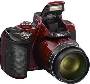 Compact ΦωτογραφικήNikonCOOLPIX P600 Red