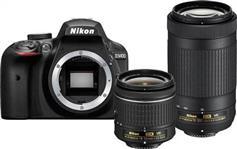 Nikon D3400 + AF-P 18-55 VR + AF-P 70-300VR