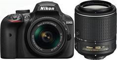Nikon D3400 DOUBLE SPECIAL KIT AF-P 18-55 MM VR & 55-200 MM VR II