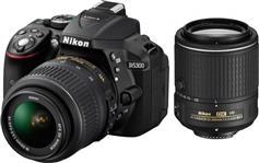 Nikon D5300 18-55VR+ 55-200VR + κάρτα μνήμης 16GB ultra