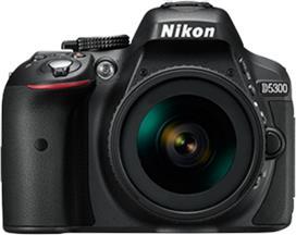 Nikon D5300 Kit 18-105VR Black