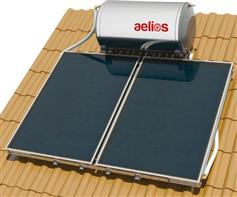 Nobel Aelios 160lt/3.0m² Glass ALS Επιλεκτικός Διπλής Ενέργειας Κεραμοσκεπής