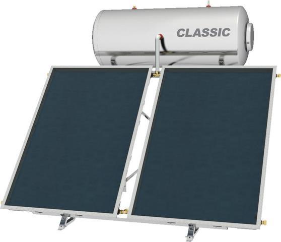 Επιλεκτικού ΣυλλεκτηNobelClassic 200lt/3.0m2 Glass Επιλεκτικός Τριπλής Ενέργειας Για Αντλία Ταράτσας