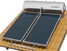 Nobel Classic 300lt/5.2m2 Glass Επιλεκτικός Τριπλής Ενέργειας Κεραμοσκεπής