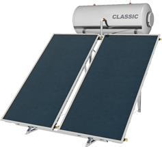 Nobel Classic 300lt/5.2m2 Inox Επιλεκτικός Διπλής Ενέργειας Ταράτσας
