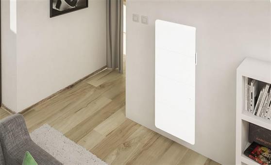 ΘερμοπομπόςNoirotAxiom Smart ECOcontrol Κάθετος 1000W Λευκός