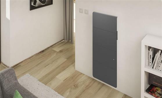 ΘερμοπομπόςNoirotAxiom Smart ECOcontrol Κάθετος 1500W Ανθρακί