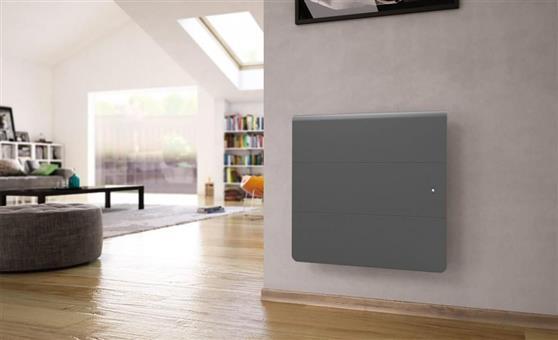 ΘερμοπομπόςNoirotAxiom Smart ECOcontrol Οριζόντιος 1000W Ανθρακί