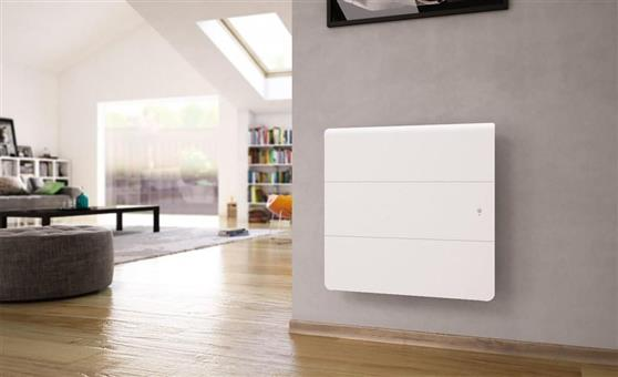 ΘερμοπομπόςNoirotAxiom Smart ECOcontrol Οριζόντιος 1500W Λευκός
