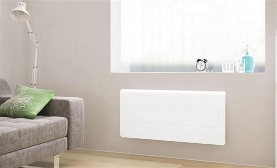 ΘερμοπομπόςNoirotAxiom Smart ECOcontrol Χαμηλός 1500W Λευκός