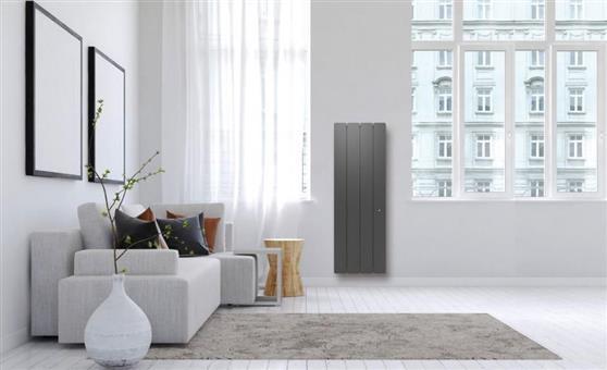 ΘερμοπομπόςNoirotBellagio Smart ECOcontrol Κάθετος 1000W Ανθρακί
