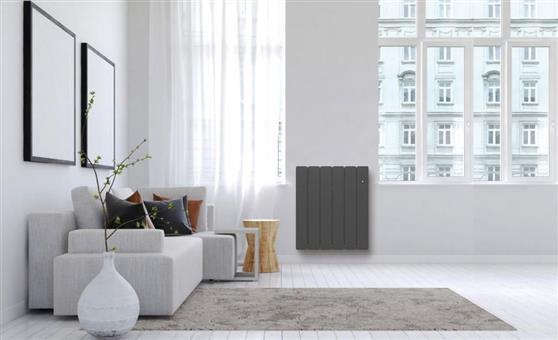 ΘερμοπομπόςNoirotBellagio Smart ECOcontrol Οριζόντιος 1000W Ανθρακί