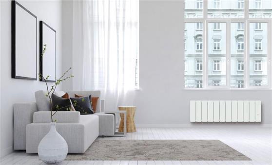 ΘερμοπομπόςNoirotBellagio Smart ECOcontrol Χαμηλός 1000W Λευκός