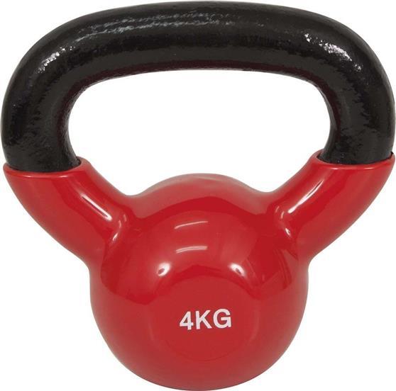 KettlebellOEM44504 Επένδυση Βινυλίου 4kg Κόκκινο