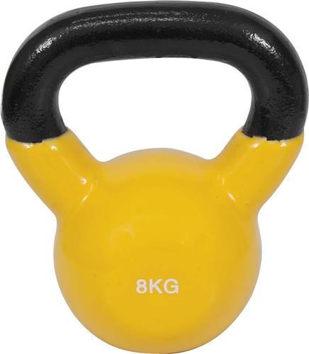 KettlebellOEM44505 Επένδυση Βινυλίου 8kg Κίτρινο