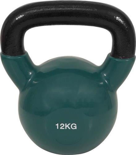 KettlebellOEM44506 Επένδυση Βινυλίου 12kg Πράσινο