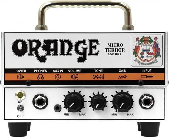 Κεφαλή Ηλεκτρικής ΚιθάραςOrangeMicro Terror