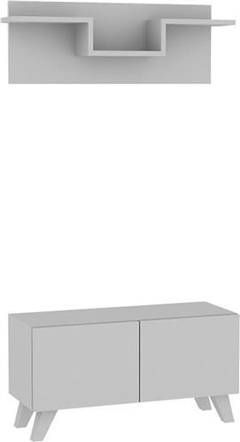 Έπιπλα Εισόδου - ΧωλPakoworldU λευκό 80x31x42