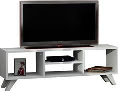 Pakoworld Karen TV Λευκό 125x29,5x41