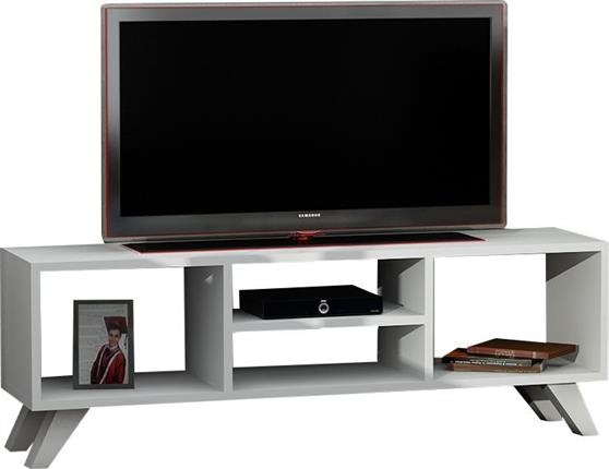 ΚονσόλαPakoworldKaren TV Λευκό 125x29,5x41