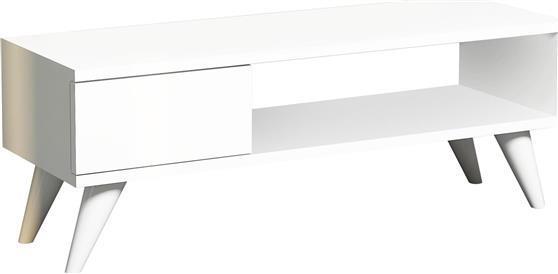 ΚονσόλαPakoworldMaya TV Λευκό 90x30x33