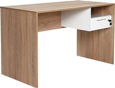 Pakoworld Γραφείο Concept sonoma-λευκό 120x60x75εκ