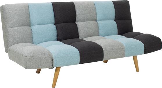 ΚαναπέςPakoworldΚαναπές-κρεβάτι 3θέσιος Freddo υφασμάτινος 182x81x84εκ