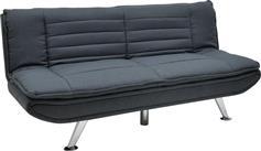 Pakoworld Καναπές-κρεβάτι Comfort 3θέσιος ανθρακί ύφασμα 182x88x84