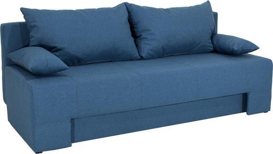 ΚαναπέςPakoworldKαναπές-κρεβάτι Sunny 3θέσιος ύφασμα πετρόλ