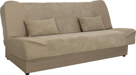 ΚαναπέςPakoworldKαναπές-κρεβάτι Tina 3θέσιος ύφασμα μπεζ