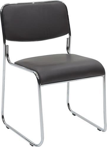 Καρέκλες ΥποδοχήςPakoworldΚαρέκλα επισκέπτη Corina Δερματίνη καφέ