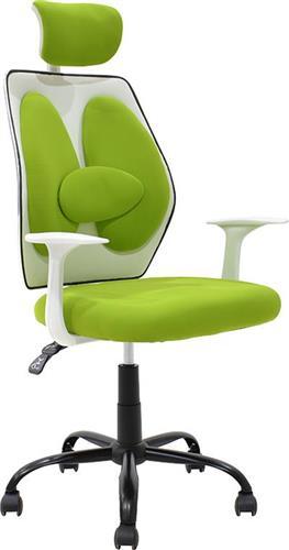 Καρέκλα ΓραφείουPakoworldΚαρέκλα Bello ύφασμα πράσινο
