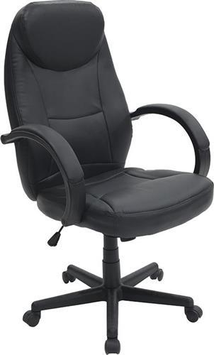 Καρέκλα ΓραφείουPakoworldΚαρέκλα Antonio Δερματίνη μαύρο