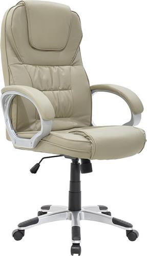 Καρέκλα ΓραφείουPakoworldΚαρέκλα Batler Δερματίνη μπεζ