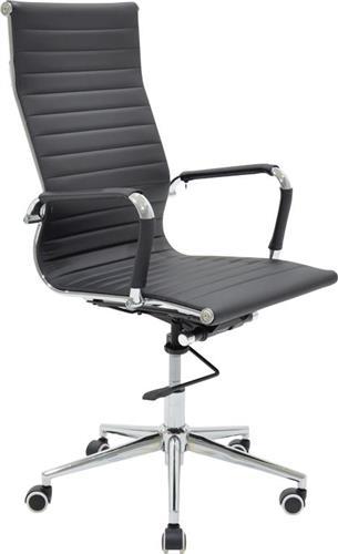 Καρέκλα ΓραφείουPakoworldΚαρέκλα Doro Δερματίνη μαύρο