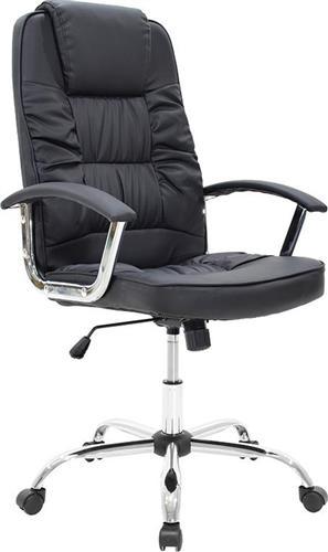 Καρέκλα ΓραφείουPakoworldΚαρέκλα MATA Δερματίνη μαύρο