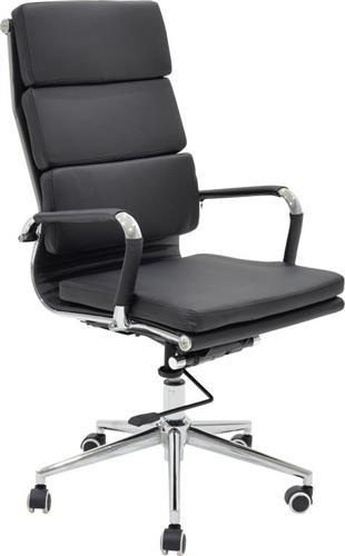 Καρέκλα ΓραφείουPakoworldΚαρέκλα Tokyo Δερματίνη μαύρο