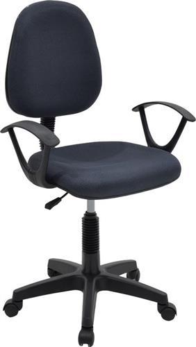 Καρέκλα ΓραφείουPakoworldMaria ύφασμα mesh γκρι
