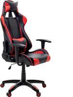Pakoworld Kαρέκλα Gaming GT-R11 Δερματίνη μαύρο-κόκκινο