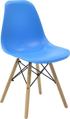 ΚαρέκλαPakoworldΚαρέκλα Julita πολυπροπυλένιο μπλε