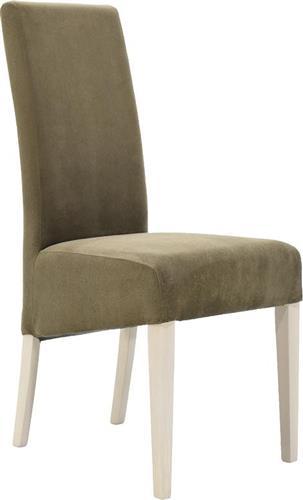 ΚαρέκλαPakoworldLungo Οξιά - Καφέ Ύφασμα 047-000012