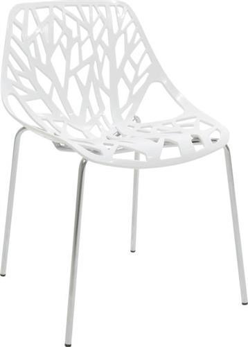 ΚαρέκλαPakoworldΚαρέκλα Mare πολυπροπυλενίου λευκό