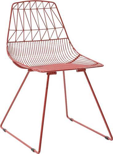 Καρέκλες Εξωτερικού ΧώρουPakoworldΚαρέκλα Morena κόκκινο