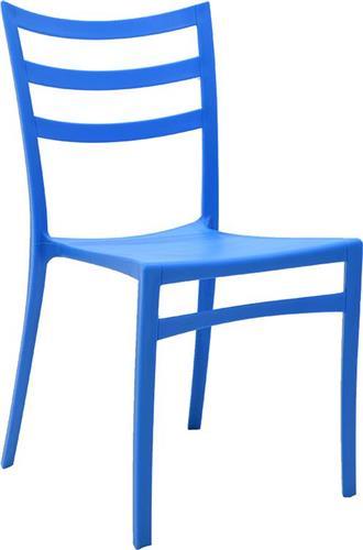 Καρέκλες Εξωτερικού ΧώρουPakoworldΚαρέκλα Roza πολυπροπυλένιο μπλε